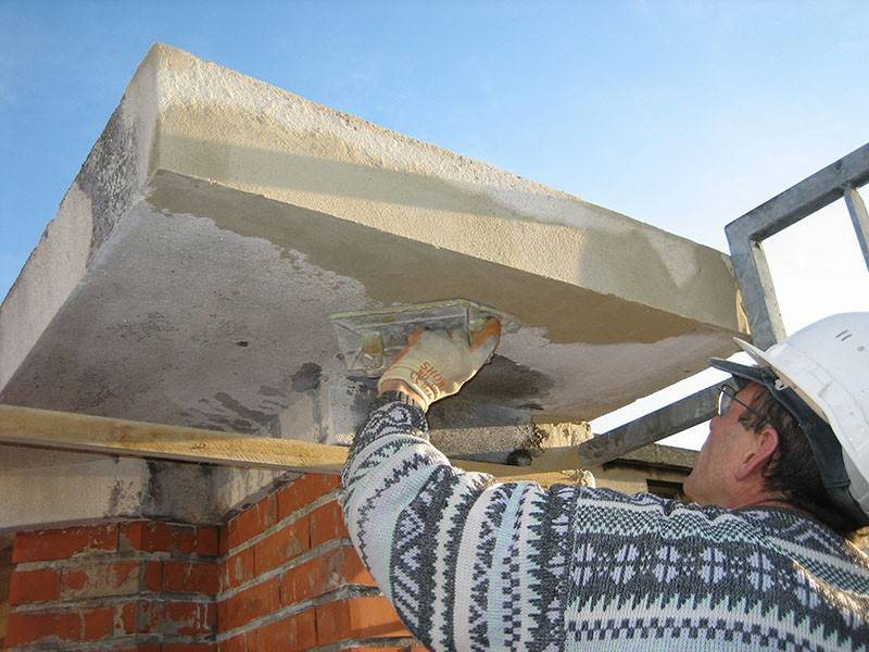 Réparation de façade