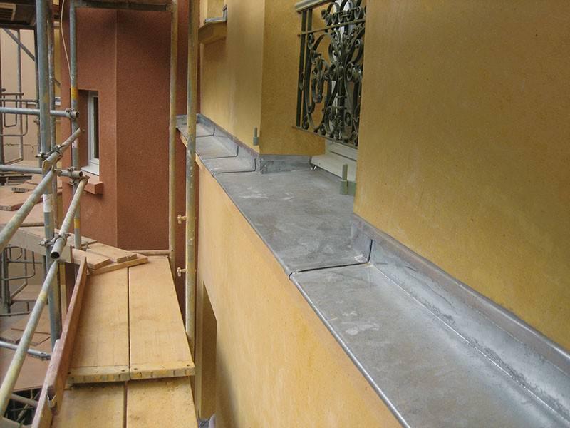 zinguerie tanch it de balcon plomberie ravalement de fa ade paris sully batiment. Black Bedroom Furniture Sets. Home Design Ideas